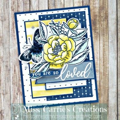 MissCarriesCreations-LovedBloomedCard