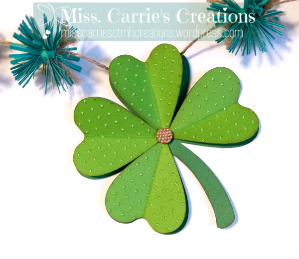 MissCarriesCreations-StPatricksDayBannerClover