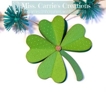 MissCarriesCreations-StPatricksDayBannerClover