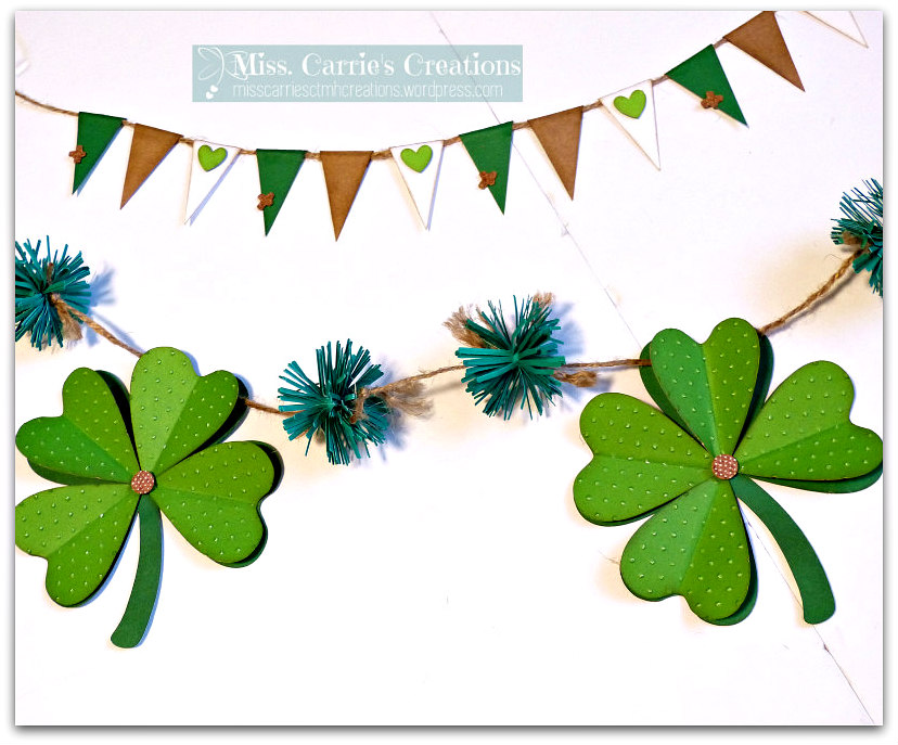 MissCarriesCreations-StPatricksDayBannerDetail
