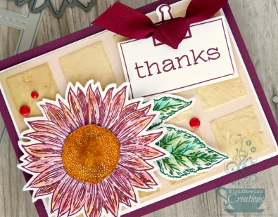 MissCarriesCreations-SunflowerThankYouCard-Detail