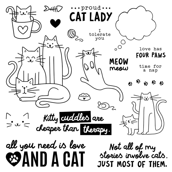 MissCarriesCreations-EKittyCuddlesStampSet
