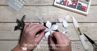 MissCarriesCreations-ShadowBoxAssemblePoinsettia