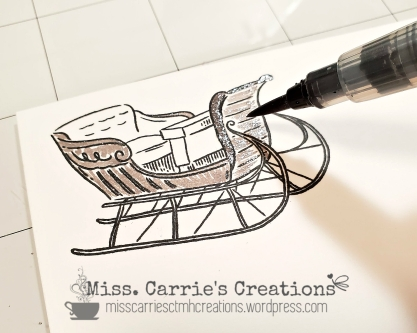 MissCarriesCreations-SparklingSleighCardShimmerBrush